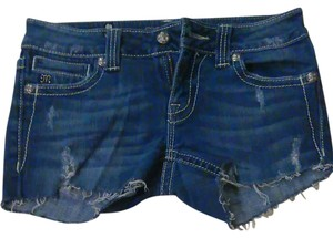 Miss Me Mini/Short Shorts Blue Jeans