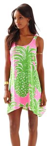 Lilly Pulitzer short dress Pink Pout Monterey Resort White on Tradesy