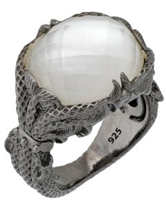 Stephen Webster Stephen Webster Jewels Verne Women's Crystal Haze silver fishing ring