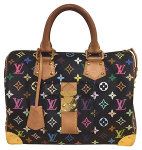 Louis Vuitton Speedy Speedy 30 Limitied Edition Neverfull Satchel in Multicolor