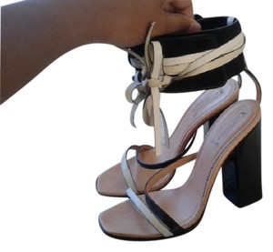 Reed Krakoff Black and White Sandals