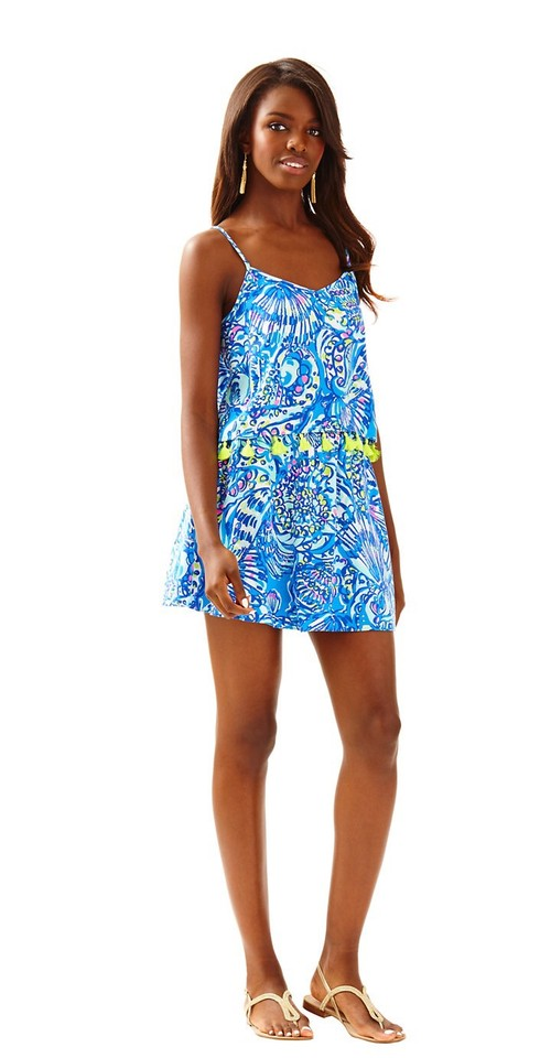 012816af88 Lilly Pulitzer Ramona Crop Top and Skirt Set Short Casual Dress Size ...