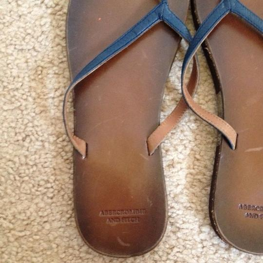 Abercrombie & Fitch Blue Sandals