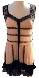 Free People short dress Black and Pink on Tradesy
