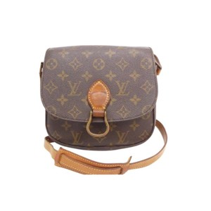 Louis Vuitton Vintage Pre Date Code Adjustable St. Cloud Mini Cross Body Bag