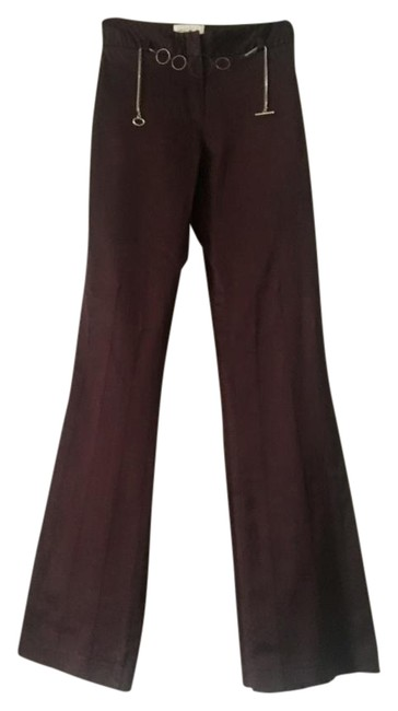 Preload https://img-static.tradesy.com/item/21282989/cache-brown-chocolate-stretch-silky-chain-belt-flared-pants-size-0-xs-25-0-2-650-650.jpg