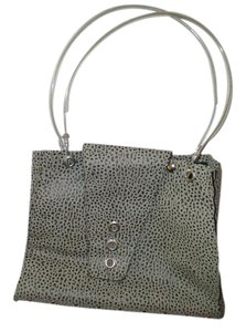 Hardware by Renee Silver Cable Textured Industrial Mod Tote