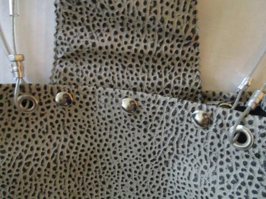 Hardware by Renee Silver Cable Textured Industrial Mod Tote Image 5