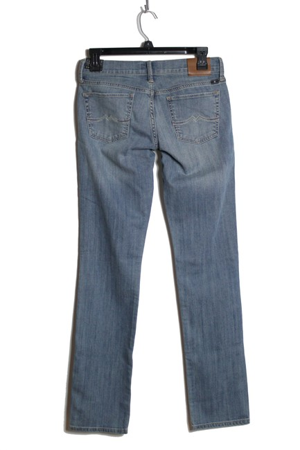 Lucky Brand Low-rise Safford Straight Leg Jeans-Medium Wash Image 1