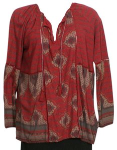 Lucky Brand Top Red