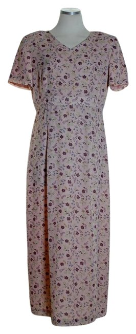 Preload https://img-static.tradesy.com/item/21283447/maggy-london-pink-new-v-neck-floral-high-waisted-long-casual-maxi-dress-size-6-s-0-1-650-650.jpg