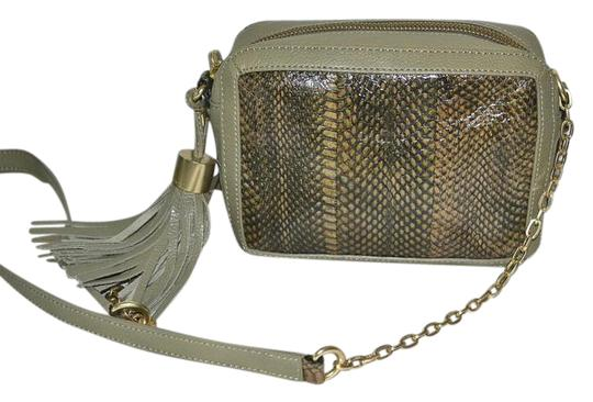 Preload https://img-static.tradesy.com/item/21283488/foley-corinna-tassel-charmer-snake-handbag-chain-strap-olive-leather-safari-snakeskin-shoulder-bag-0-1-540-540.jpg