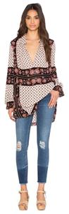 Free People Changing Times Shirt Printed Tunic