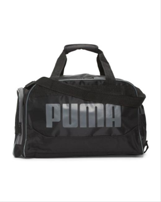 Item - Duffel Sport Gim Black Polyester Weekend/Travel Bag