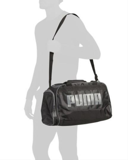 Puma Gim Sport Black Travel Bag Image 2