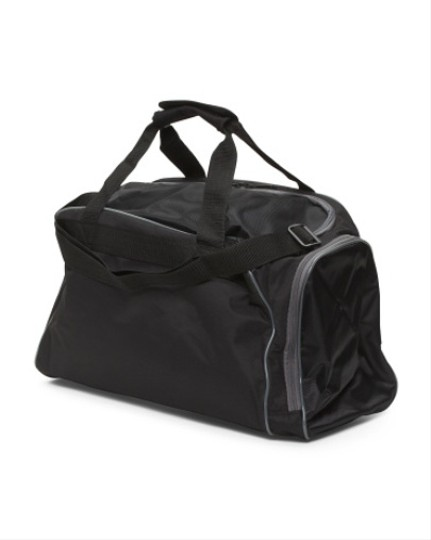 Puma Gim Sport Black Travel Bag Image 3