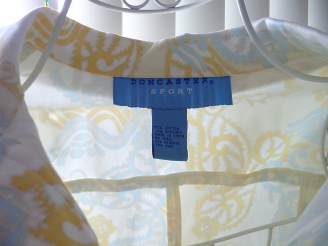 Doncaster Baby Blue and Pastel Yellow Jacket Image 1