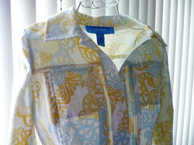 Doncaster Baby Blue and Pastel Yellow Jacket Image 3