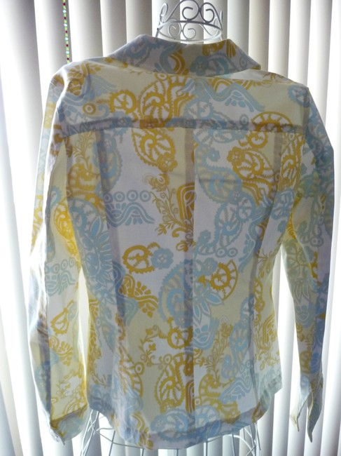 Doncaster Baby Blue and Pastel Yellow Jacket Image 5