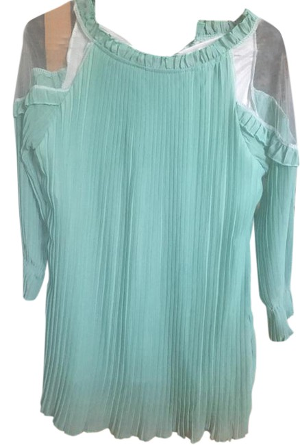 Preload https://img-static.tradesy.com/item/21283885/mint-green-1-short-night-out-dress-size-8-m-0-1-650-650.jpg