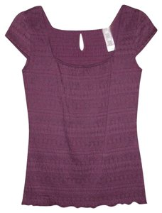 Liz & Co. Top Purple / Plum