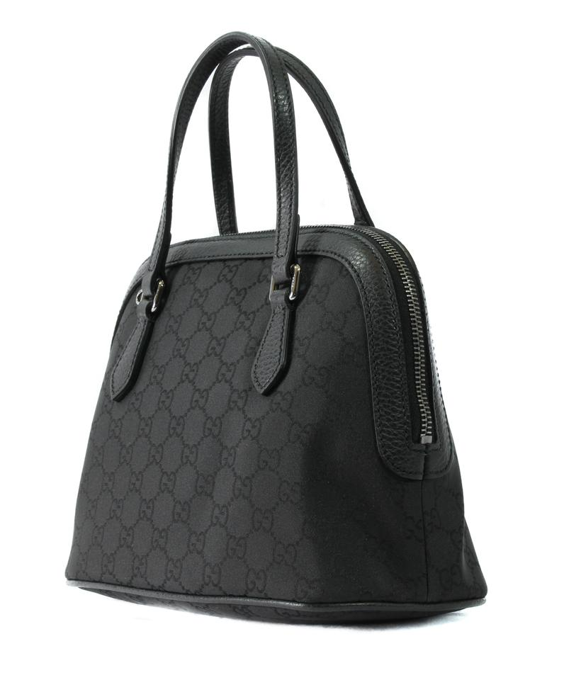 313d0c802525 Gucci Dome Gg Guccissima Convertible Mini Black Nylon Cross Body Bag ...