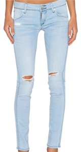 Hudson Skinny Jeans-Light Wash