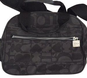 TOUS Satchel in Gray And Black