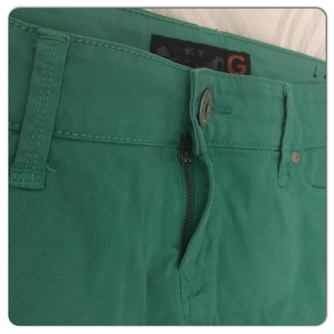 Guess Cuffed Shorts Green Image 8