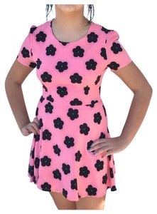 Pixie Market short dress Pink on Tradesy