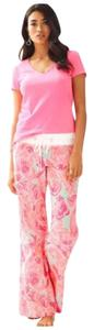 Lilly Pulitzer Relaxed Pants Pink and Blue