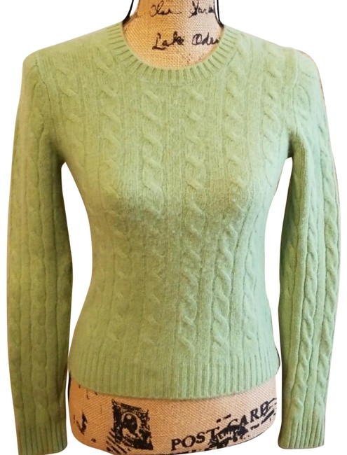Preload https://img-static.tradesy.com/item/2128444/evelyn-grace-soft-green-classic-cashmere-sweater-pant-suit-size-8-m-0-3-650-650.jpg