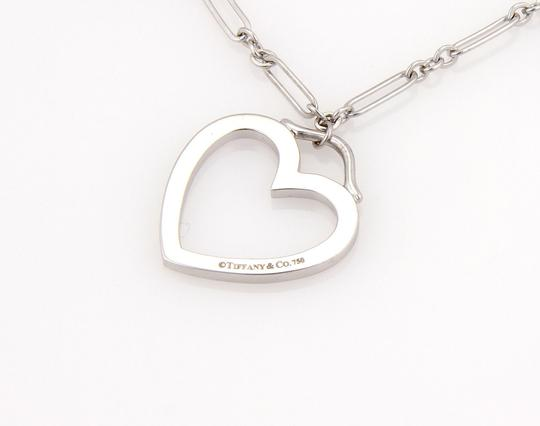 Tiffany & Co. 18K White Gold Triple Heart Pendant Necklace with Pouch Image 4