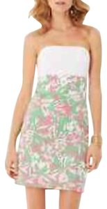 Lilly Pulitzer short dress Pink, green, and white on Tradesy