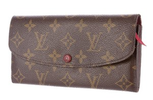 Louis Vuitton Brown LV monogram Louis Vuitton Emilie wallet