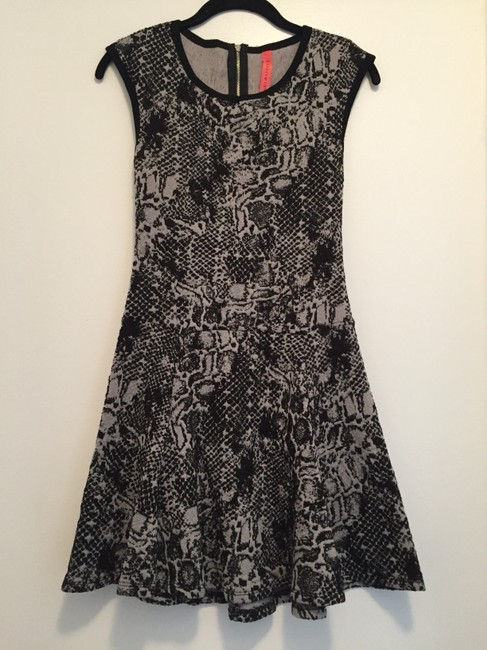 Eight Sixty short dress Black & gray on Tradesy Image 1
