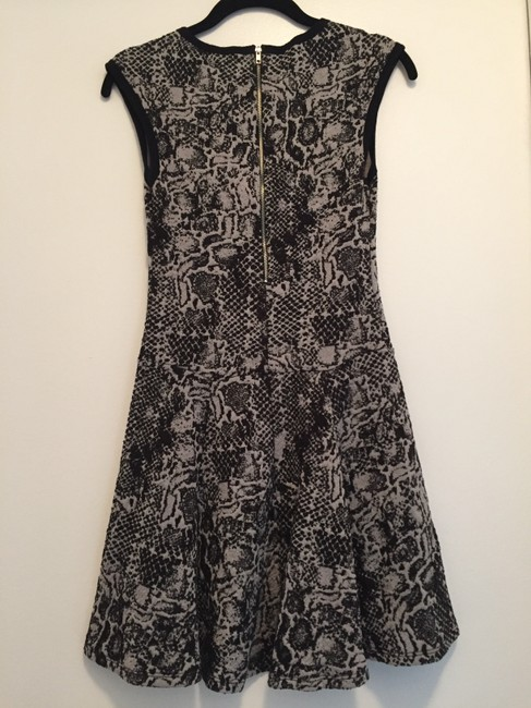 Eight Sixty short dress Black & gray on Tradesy Image 4