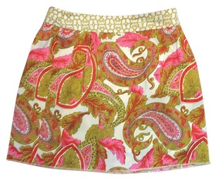 MILLY Mini Skirt multicolor