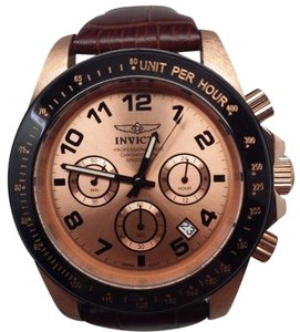 Invicta Men's Professional Speedway Chronograph Rose Gold Watch 10711