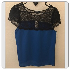 Express Top Black/Blue