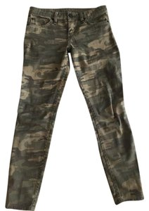 Sanctuary Army Ankle Cropped Skinny Jeans