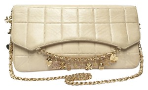 Chanel Charm Limited Edition Rare Quilted Herringbone Collectible Shoulder Bag