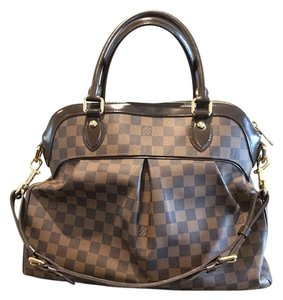 Louis Vuitton Artsy Mm Gm Trevi Tote in Damier Ebene