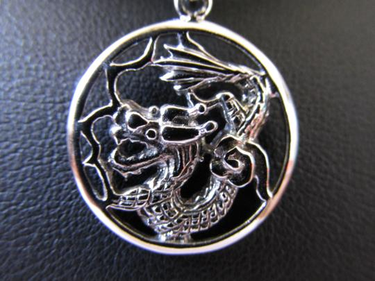 Other 18K Gold over Sterling Silver Dragon Pendant