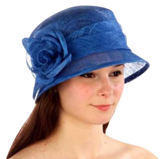Preload https://img-static.tradesy.com/item/21285648/royal-blue-new-cloche-bucket-sinamay-rose-dress-hat-0-1-540-540.jpg