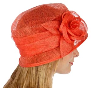 kentucky derby hat New Cloche Bucket Sinamay Rose Dress Dressy Hat a2324b406802