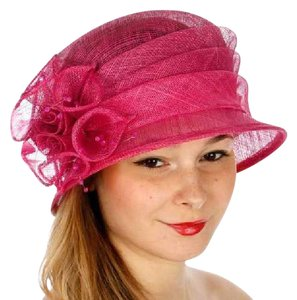 kentucky derby hat New Cloche Bucket Sinamay Dress Dressy Hat
