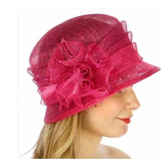 kentucky derby hat New Cloche Bucket Sinamay Dress Dressy Hat Image 1