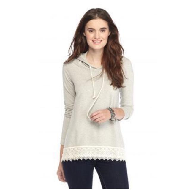 Preload https://img-static.tradesy.com/item/21285785/chip-and-pepper-oatmeal-lace-sweatshirthoodie-size-2-xs-0-0-650-650.jpg