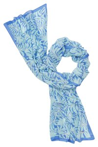 Kate spade scarves on sale up to 90 off at tradesy kate spade kate spade womens ks1000967 adventure blue sea ferns oblong scarf sciox Image collections
